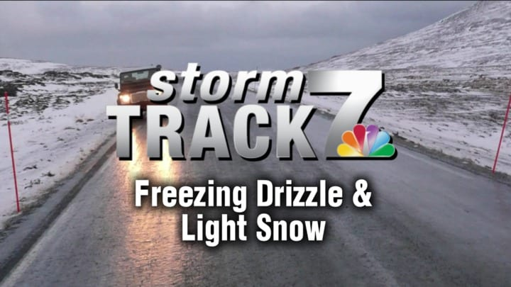 TRACKING: A light wintry mix