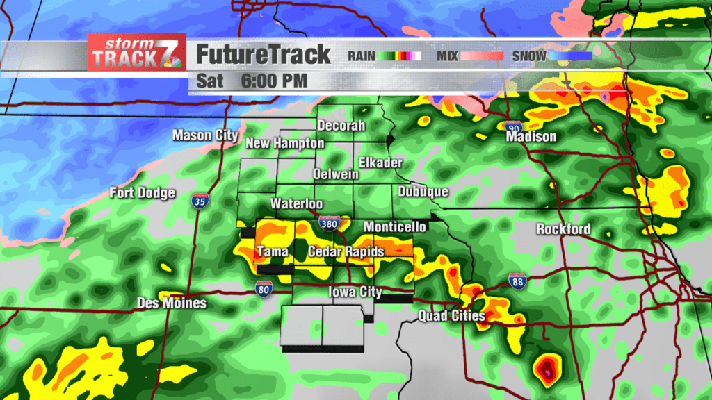 Madison Dodges Weather Bullet As >> Tracking Active Weather Weekend Kwwl