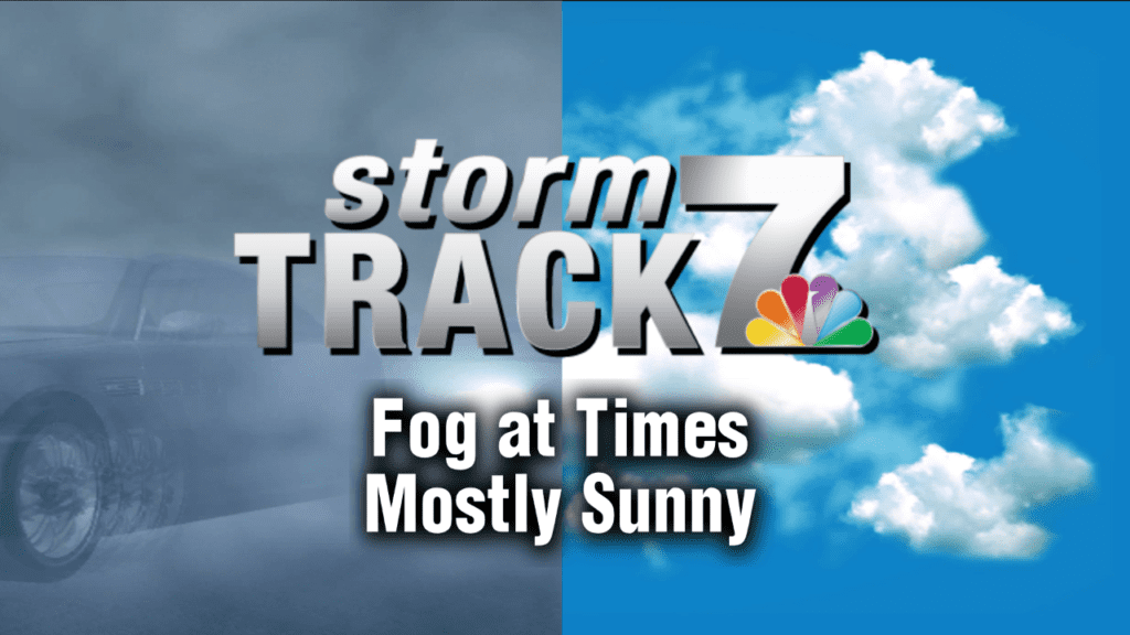 TRACKING: Fog and sunshine