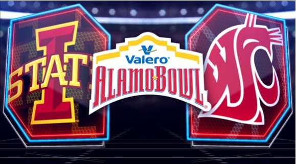 Washington State, Iowa State draw crowd of 60,675 to Alamo Bowl
