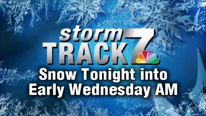TRACKING: Snow and cold