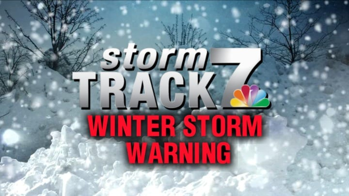 TRACKING: Heavy snow and strong winds
