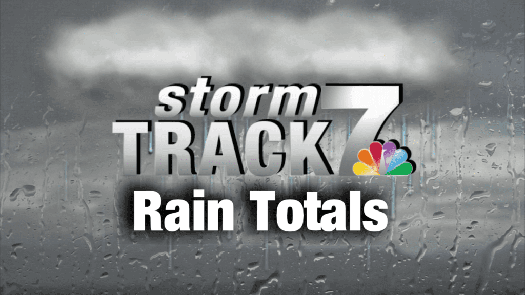 24 Hour Rain Totals (1/6 to 1/7) - KWWL