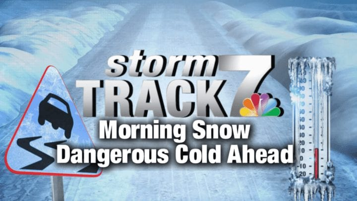 TRACKING: Slick travel conditions; Bitterly cold temperatures