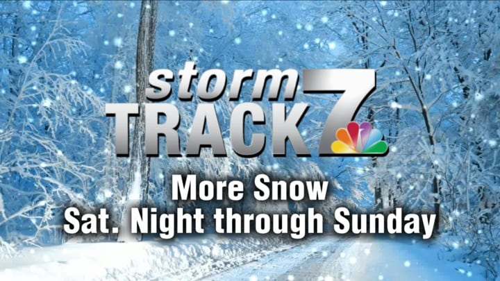 TRACKING: Another round of accumulating snow