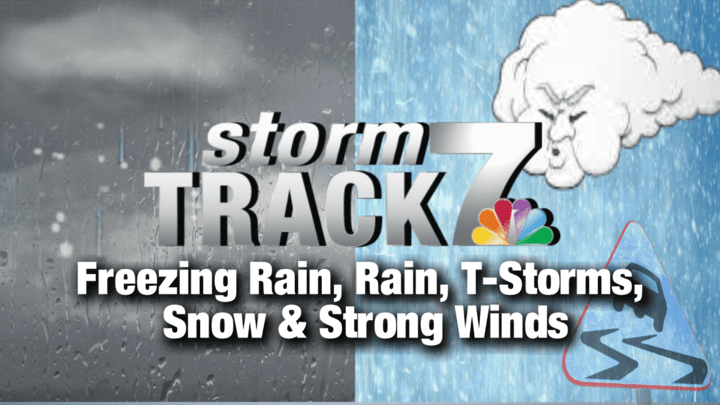 TRACKING: A Messy Winter Storm All Weekend