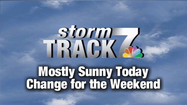 Tracking: Sunshine today, large storm for the weekend