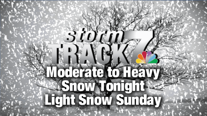 TRACKING: Snow tonight through Sunday affecting travel