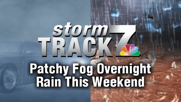 TRACKING: Sunshine and weekend rain