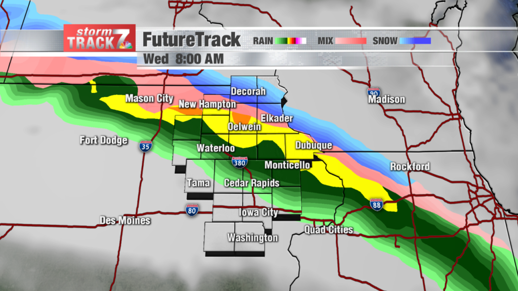 Madison Dodges Weather Bullet As >> Tracking Rain Light Snow And Strong Winds Kwwl