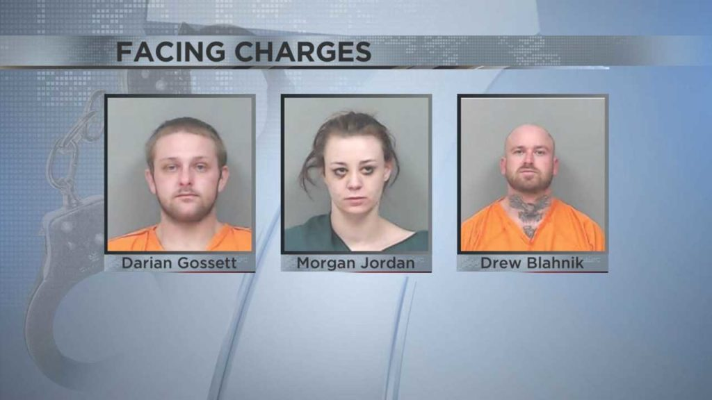 Three people facing charges after Linn Co  Sheriff raid