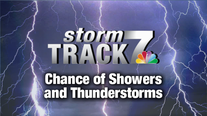 TRACKING: Showers and thunderstorms through Monday