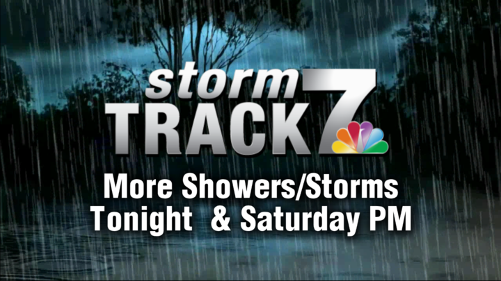 TRACKING: Chance of rain and isolated storms tonight