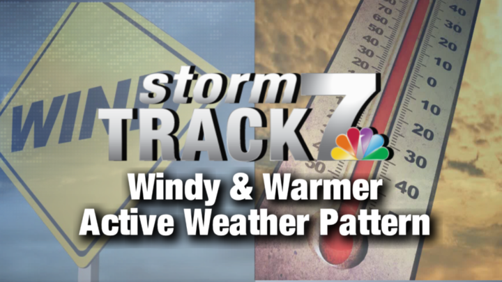 TRACKING: Warmer temperatures and several chances of rain