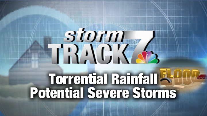 TRACKING: More storms with heavy rain, wind, hail