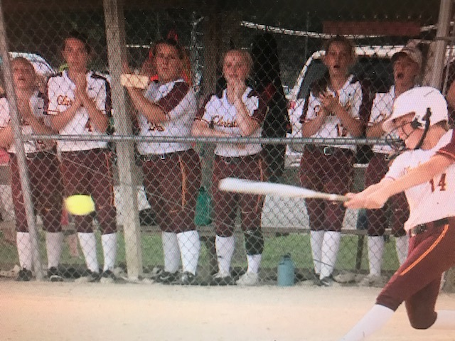 1A Softball top ranked Collins-Maxwell beats #3 Clarksville 1-0 in 8th