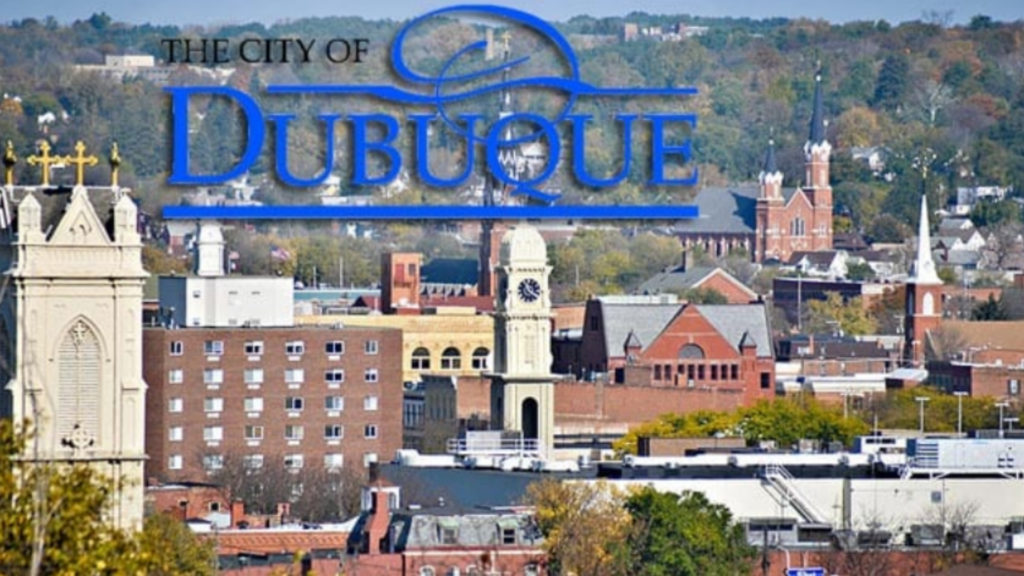 Plugged pipe causing sanitary sewer overflow in Dubuque