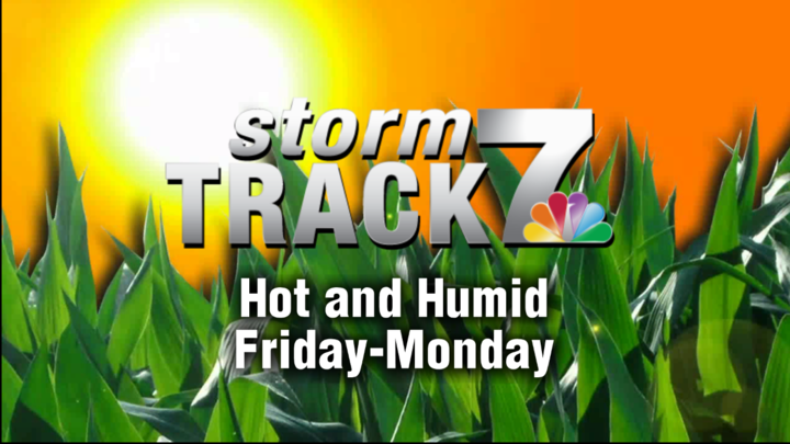 TRACKING: A hot and humid weekend