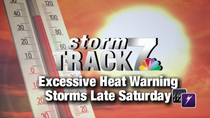 TRACKING: Excessive Heat Warning continues.