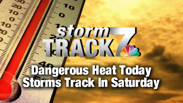 TRACKING: Dangerous heat continues