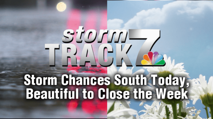 TRACKING: Storms for some today, then beautiful weather for all tomorrow