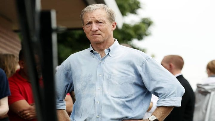Former IA state rep. Roger Thomas endorses Tom Steyer