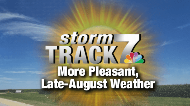 TRACKING: Pleasant weather continues