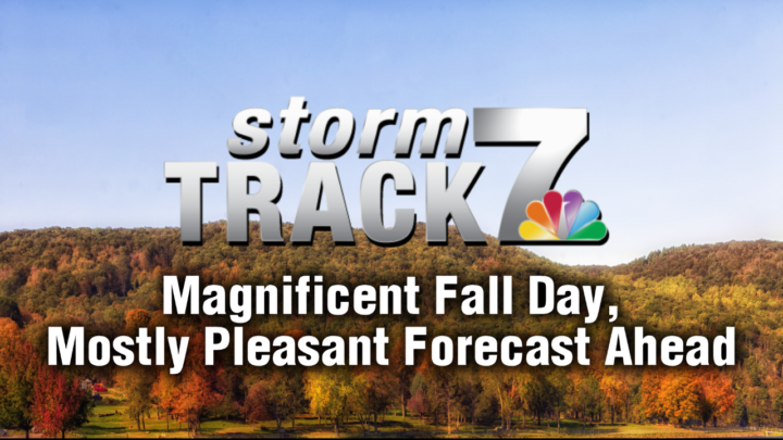 TRACKING: An awesome fall day, pleasant forecast moving forward