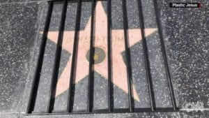 Trump Star behind bars
