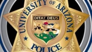 The university of Arizona Police Department releases crime stats.