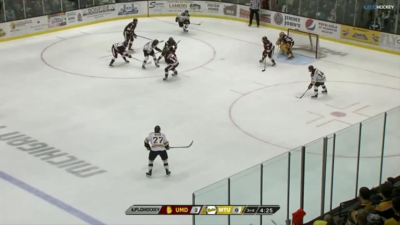 UMD gets first win of the season over Michigan Tech