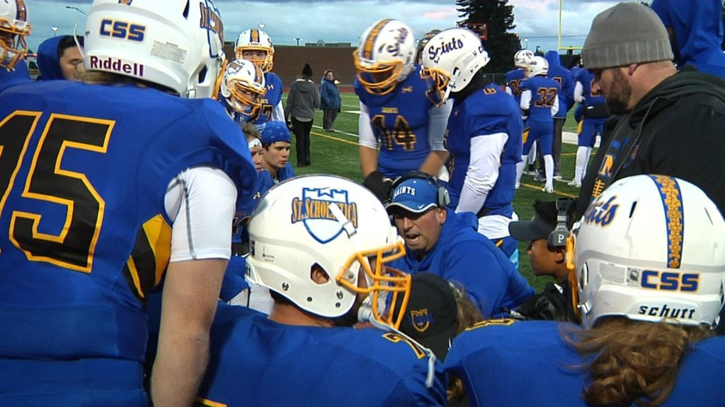 St. Scholastica wins big over Greenville for 2nd straight win