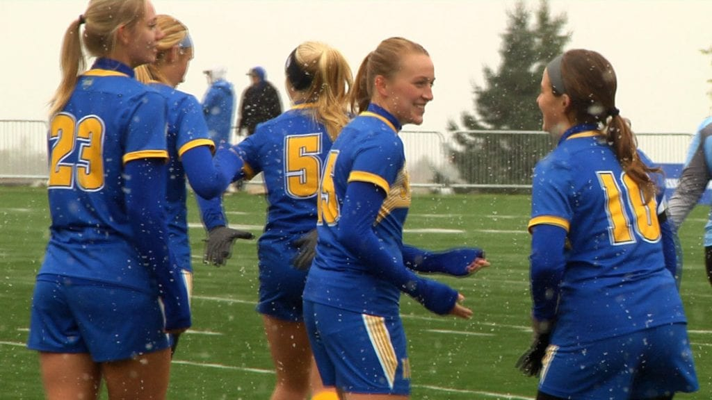 Friday scores lone goal as CSS women's soccer shuts out Hamline