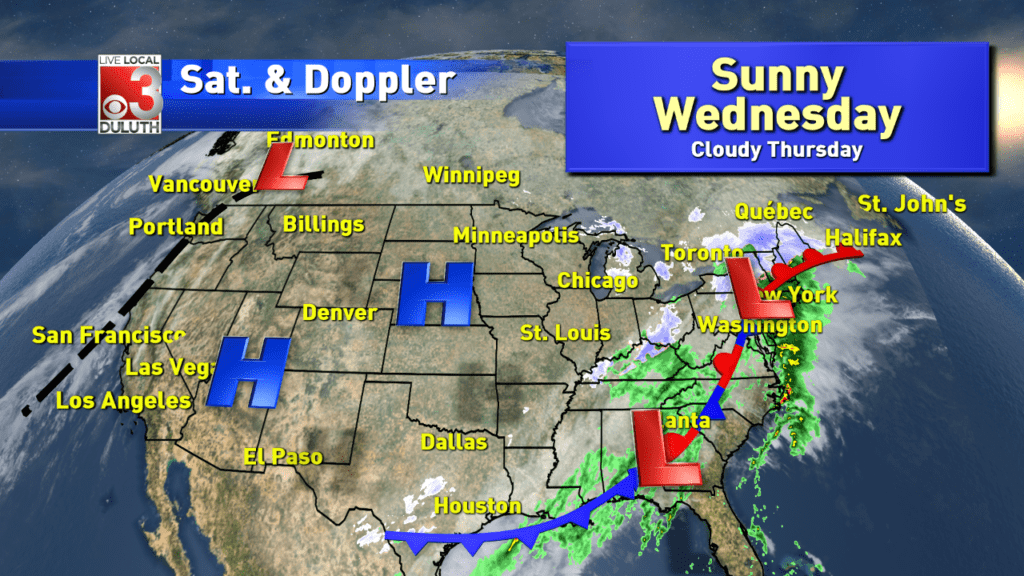 Warmer weather wanders in for Wednesday