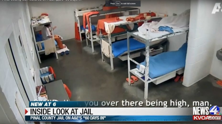 Pinal County Jail featured on A&E's