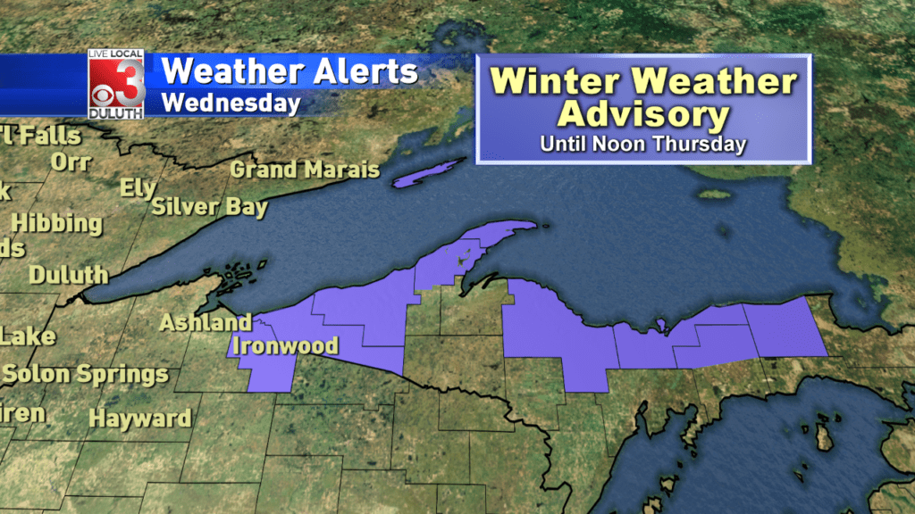 Winter Weather Advisory For Snow Belt Flurries For The Rest Of Us - Us-snow-belt-map