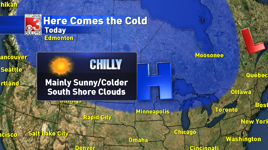 Cold temperatures to last through the weekend