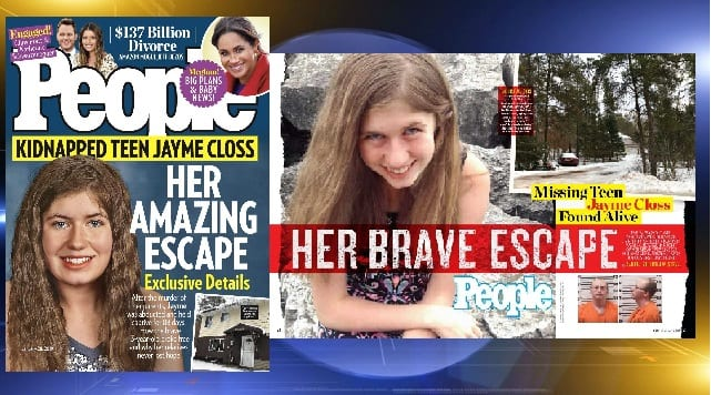 Closs to appear on cover of People magazine, other abduction survivors speak out