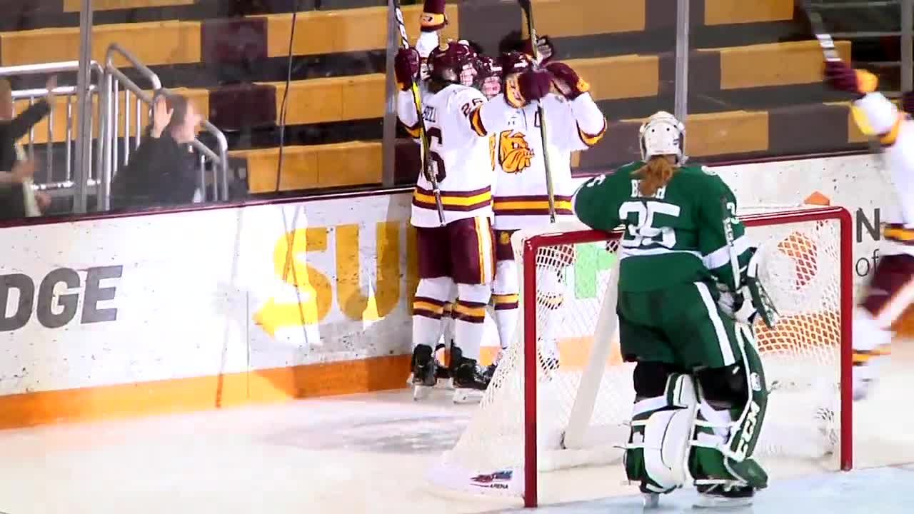 UMD women's hockey looking forward to their second straight HDM game