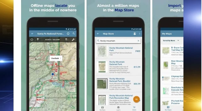 App helps keep outdoor enthusiasts on track - CBS 3 DULUTH