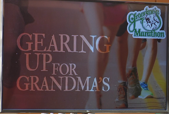Spectators able to track Grandma's runners through app