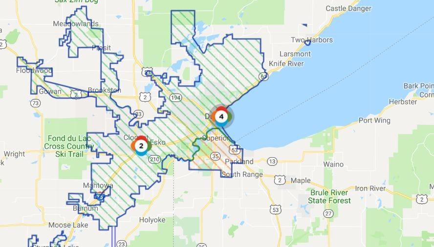 Update Over 1 700 Minnesota Power Customers Impacted By Power