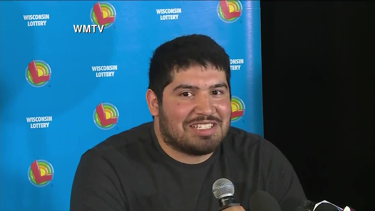 24 Year Old Wisconsin Man Claims 768 Million Lottery Prize Cbs 3