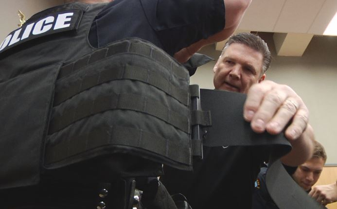 Duluth Police Dept  gifted new rifle rated gear by Shield