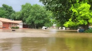 Flooding in the St. Louis area. Photo by NBC News