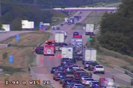 UPDATE: Lanes reopen after crash on I-94 in Jefferson County - WKOW