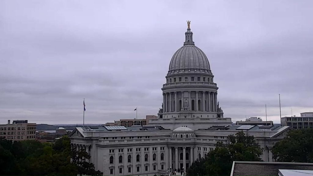 Overcast skies at capitol