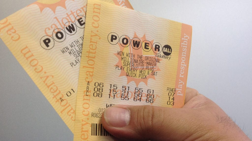 Powerball Guaranteed Ticket