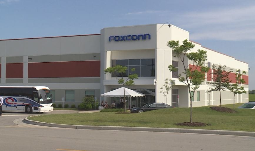 Foxconn site in Pleasant Prairie, Racine County.