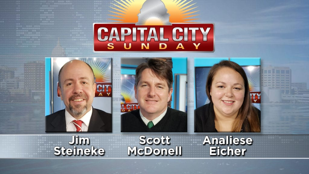 Capital City Sunday: Rep. Jim Steineke & Dane County Clerk, One Wisconsin Now